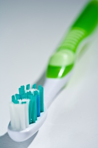 Dr. Richard Sterling Laguna Beach Dentist and Toothbrush selection